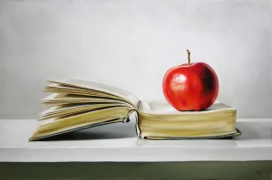 apple book 300x199 Month 4 Sales Report – Ahh Sweet Apple, How I Love Thee