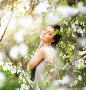 stock photo 15770494 girl in the garden 288x300 How To Design a Kindle Book Cover When Youre Not a Designer