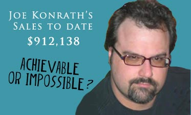 joe konrath Another Post About Joe Konraths Sales Figures