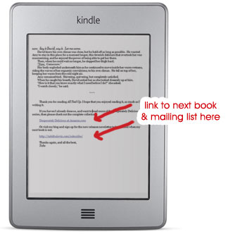 kindle linktonextbook Do You Have a Call To Action Inside Your Book?